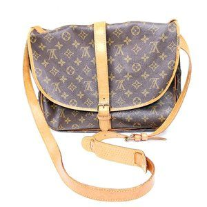 Louis Vuitton Saumur crossbody bag vintage